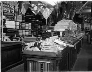 Le magasin Grasset dans les années 50