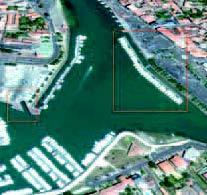 Le projet d'aménagement du port tel que V.I.E. se le représentait (avant déc. 2012).