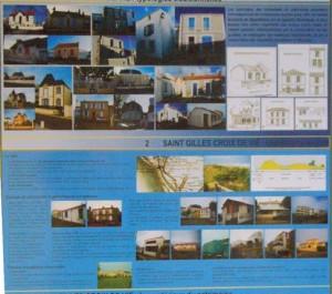 Extrait du diagnostic du patrimoine urbain dans le cadre du l'AVAP par Gilles Maurel architecte du patrimoine - Eric Enon paysagiste concepteur- Eve Lagleyze Environnementaliste