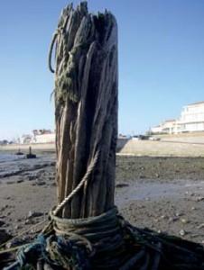 Poste d'amararage en danger Baie d'Adon (photo V.I.E.)