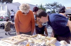 Découverte des ressources minéralogiques locales (photo V.I.E.)