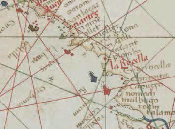 Atlas nautique de l'océan Atlantique nord-est de la mer Méditerranée et de la mer Noire, 1466, Gracioso Benincasa © BnF, départ. des cartes et plans